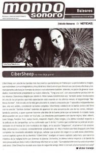 CiberSheep al MondoSonoro
